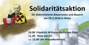 Solidaritätsaktion klein
