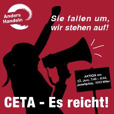 CETA - Aufruf