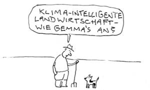 grafik kuh und gras